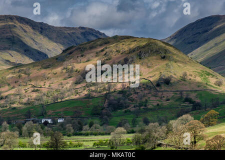 The Tongue, in Troutbeck Valley, near Windermere, Lake District, Cumbria - Stock Photo