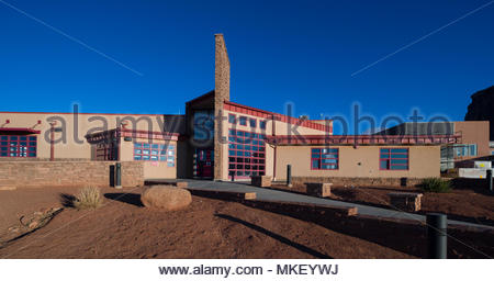 Visitors Center Monument Valley, Navajo County, Arizona, USA - Stock Photo