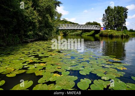 Bourbeuse Valley, Territoire de Belfort, Franche-Comte, France - Stock Photo