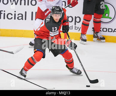 Herning, Denmark May 07, 2018. IIHF Ice Hockey World Cup 2018, Herning, May 07, 2018 Matt BARZAL, CAN 13  CANADA - DENMARK 7-1 Icehockey Worldcup 2018 DEB , in Herning, Denmark May 07, 2018 © Peter Schatz / Alamy Live News - Stock Photo