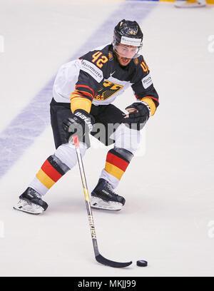 Ice Hockey World Cup 2018, Herning, May 07, 2018 Yasin EHLIZ, DEB 42    GERMANY - USA  0-3 IIHF Icehockey World Championships 2018 DEB , in Herning, Denmark May 07, 2018 © Peter Schatz / Alamy Live News - Stock Photo