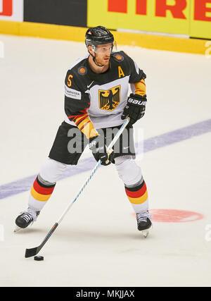 Ice Hockey World Cup 2018, Herning, May 07, 2018 Korbinian HOLZER, DEB 5  GERMANY - USA  0-3 IIHF Icehockey World Championships 2018 DEB , in Herning, Denmark May 07, 2018 © Peter Schatz / Alamy Live News - Stock Photo