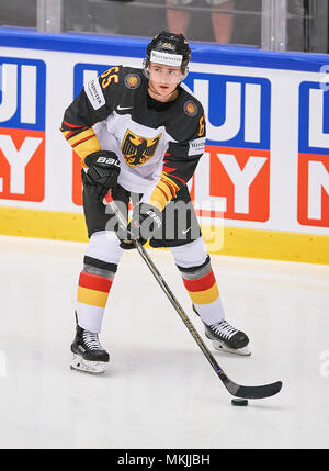 Ice Hockey World Cup 2018, Herning, May 07, 2018 Marc MICHAELIS, DB 65  GERMANY - USA  0-3 IIHF Icehockey World Championships 2018 DEB , in Herning, Denmark May 07, 2018 © Peter Schatz / Alamy Live News - Stock Photo