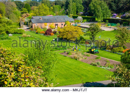 Landscapes & Scenery at The University of Liverpool's Ness Botanical  Gardens, Ness Gardens, Ness, Wirral, Merseyside England UK Credit: Christopher Canty Photography/Alamy Live News - Stock Photo
