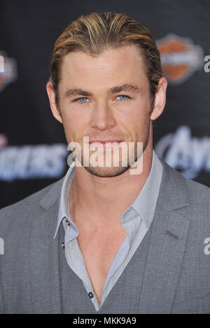 Chris Hemsworth  at the Avengers Premiere at the El Capitan Theatre In Los Angeles.Chris Hemsworth _38 Red Carpet Event, Vertical, USA, Film Industry, Celebrities,  Photography, Bestof, Arts Culture and Entertainment, Topix Celebrities fashion /  Vertical, Best of, Event in Hollywood Life - California,  Red Carpet and backstage, USA, Film Industry, Celebrities,  movie celebrities, TV celebrities, Music celebrities, Photography, Bestof, Arts Culture and Entertainment,  Topix, headshot, vertical, one person,, from the year , 2012, inquiry tsuni@Gamma-USA.com - Stock Photo