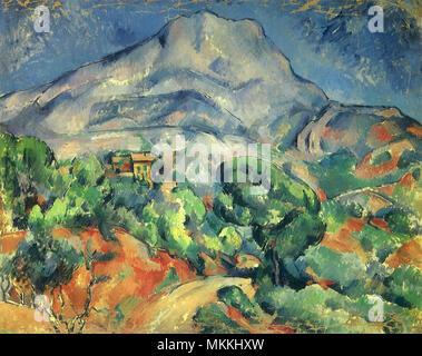 Mont Sainte-Victoire - Stock Photo