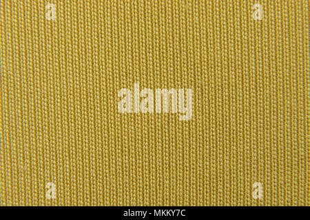 image abstract background of yellow fabric close-up - Stock Photo