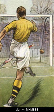 Soccer Player Taking Penalty Kick Stock Photo 78120140