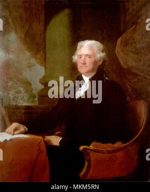 Thomas Jefferson 1805 - Stock Photo