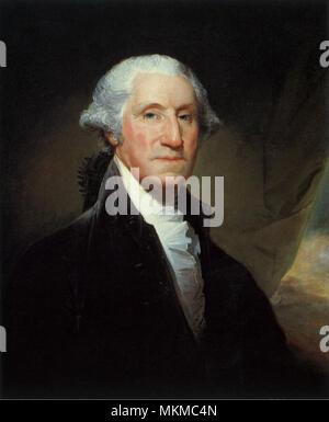 George Washington 1795 - Stock Photo