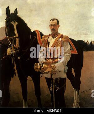 Portrait of Grand Duke - Stock Photo