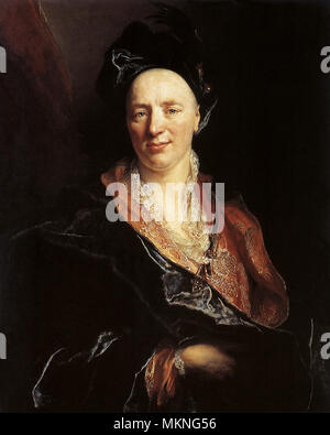 Portrait of Jean-Baptiste Rousseau - Stock Photo
