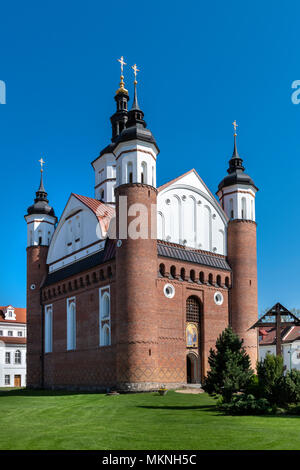 The Monastery of the Annunciation in Suprasl also known as the Suprasl Lavra, Poland - Stock Photo