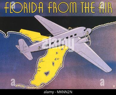 Flying Over Florida - Stock Photo