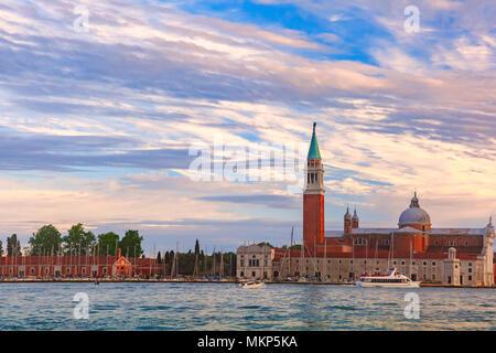 Church of San Giorgio Maggiore in Venice, Italia - Stock Photo