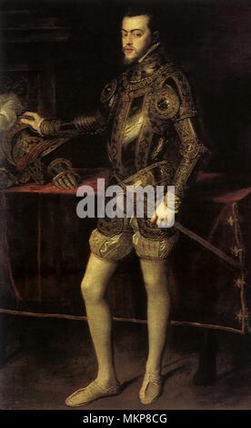 Philip II, King of Spain 1551 - Stock Photo