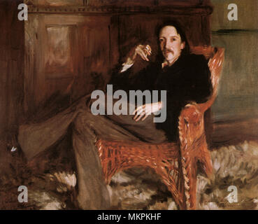 Robert Louis Stevenson - Stock Photo