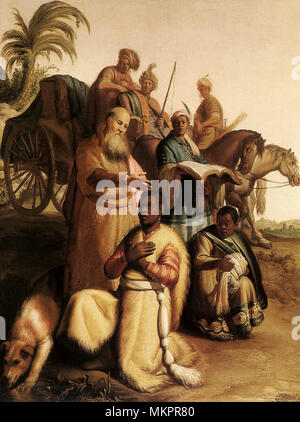 The Baptism of the Eunuch - Stock Photo