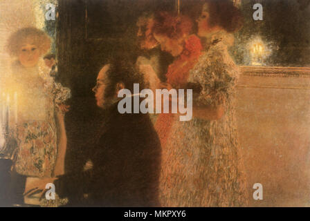 Schubert at the Piano II - Stock Photo