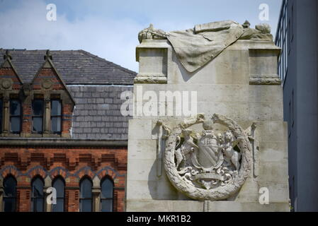 Cenotaph in Manchester - Stock Photo