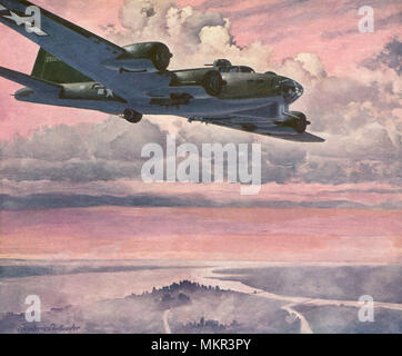 Boeing B-17 Flying Fortress - Stock Photo