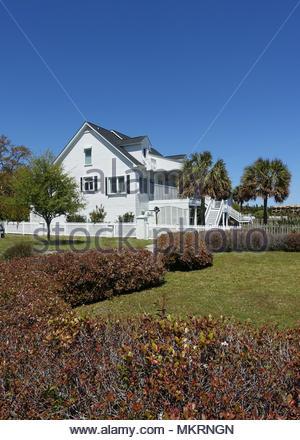 Home in Southport, North Carolina - Stock Photo