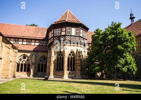 Maulbronn, Germany. Brunnenhaus or well house in the cloister of Maulbronn Monastery (Kloster Maulbronn), a former Roman Catholic Cistercian Abbey