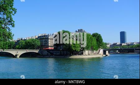 seine river, paris, france - Stock Photo