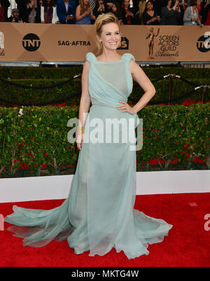 January Jones061 at the 22nd Ann. Screen Actors Guilds  ( SAG ) Awards 2016 at the Shrine Auditorium in Los Angeles. January 30, 2016.-------- January Jones061  --------- Event in Hollywood Life - California,  Red Carpet Event, Vertical, USA, Film Industry, Celebrities,  Photography, Bestof, Arts Culture and Entertainment, Topix Celebrities fashion /  from the Red Carpet-2016, one person, Vertical, Best of, Hollywood Life, Event in Hollywood Life - California,  Red Carpet and backstage, USA, Film Industry, Celebrities,  movie celebrities, TV celebrities, Music celebrities, Photography, Bestof, - Stock Photo
