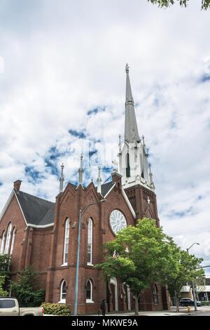Salem,Oregon,USA - June 8,2017 : First United Methodist Church in Salem - Stock Photo