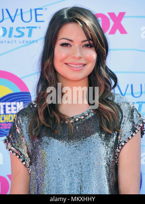 Miranda Cosgrove  at the Teen Choice 2012 Awards at the Universal Amphitheatre In Los Angeles.Miranda Cosgrove  243 Red Carpet Event, Vertical, USA, Film Industry, Celebrities,  Photography, Bestof, Arts Culture and Entertainment, Topix Celebrities fashion /  Vertical, Best of, Event in Hollywood Life - California,  Red Carpet and backstage, USA, Film Industry, Celebrities,  movie celebrities, TV celebrities, Music celebrities, Photography, Bestof, Arts Culture and Entertainment,  Topix, headshot, vertical, one person,, from the year , 2012, inquiry tsuni@Gamma-USA.com - Stock Photo