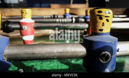 football table soccer - Stock Photo