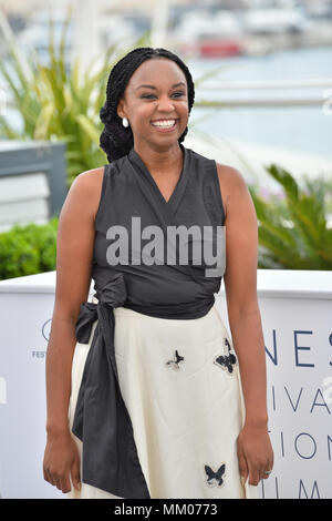 Cannes, France. May 09, 2018: Wanuri Kahiu at the photocall for 'Rafiki' at the 71st Festival de Cannes Picture: Sarah Stewart Credit: Sarah Stewart/Alamy Live News - Stock Photo