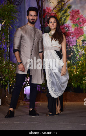 Bollywood Actor Shahid Kapoor With Wife Mira Rajput Attend The