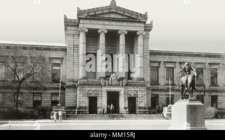 Museum of Fine Arts. Boston.  1950 - Stock Photo