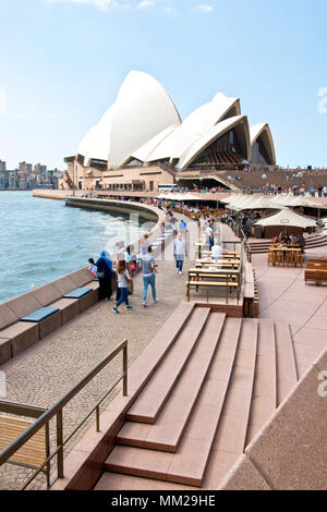 View toward Sydney Opera House - Stock Photo