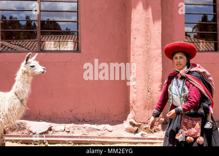 Images of Peru and its peoples. Portrait and Landscape - Stock Photo
