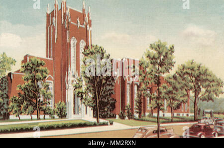 Peabody Museum at Yale University. New Haven. 1954 - Stock Photo