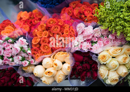 fresh bunches of flower