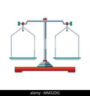 Laboratory scales icons - Stock Photo
