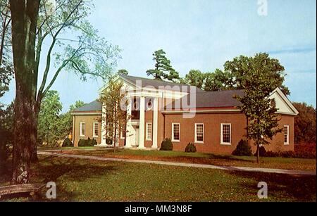 Greensboro College Library. Greensboro. 1960 - Stock Photo