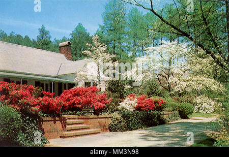 Mid South Resort. Southern Pines. 1960 - Stock Photo
