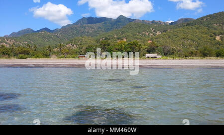 Tropical beaches in Atauro island, East Timor - Stock Photo