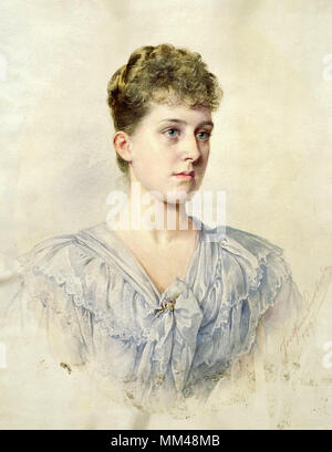 Swoboda Josefine - Princess Marie Louise of Schleswig-Holstein - Stock Photo