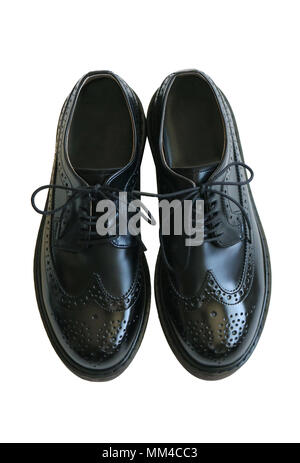 Wing tip shoes - Stock Photo