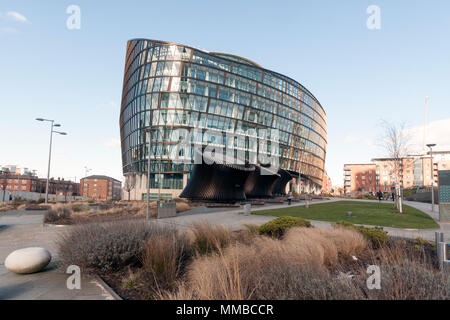 One Angel Square, Manchester - Stock Photo