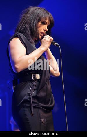 Imelda May performing at the Cheltenham Jazz Festival, Cheltenham ,UK. May 5, 2018 - Stock Photo
