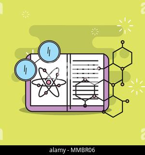 science laboratory research - Stock Photo