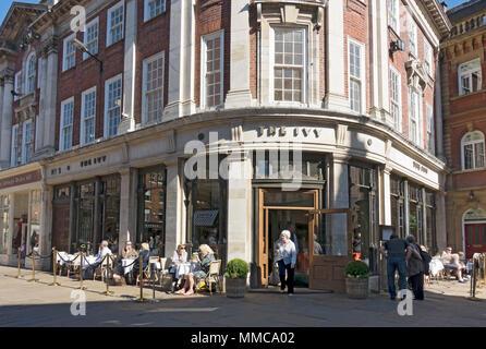 The Ivy restaurant St Helens Square York North Yorkshire England UK United Kingdom GB Great Britain - Stock Photo