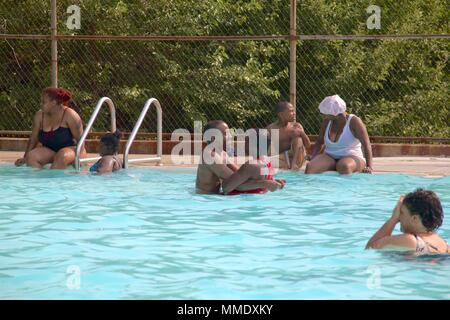 Families enjoy relaxing holiday swimming and floating down - Public swimming pools bournemouth ...